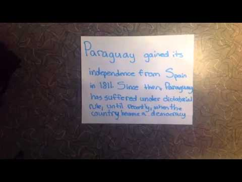 ▶ Paraguay for 2016 Olympics by Laina Meagher