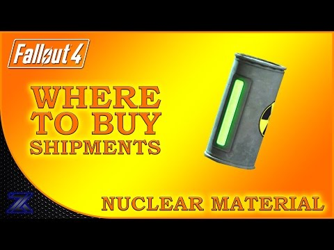 Fallout 4 - How to Find Shipments of Nuclear Material Guide.