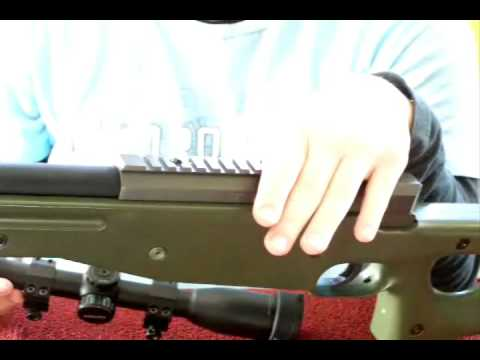 UTG L96 Sniper rifle review by DeadSilent120