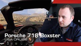 Hot Lap: Porsche 718 Spyder Boxster S - Cruise course USA