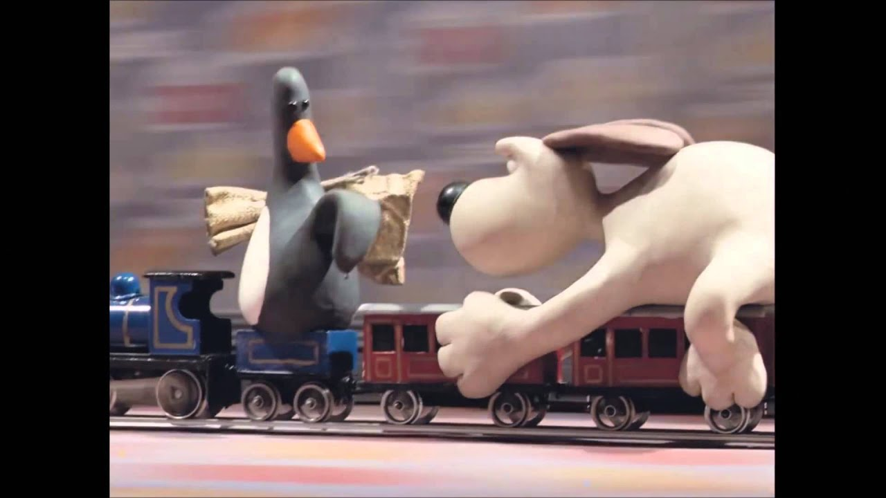 Wallace And Gromit Train Track Game