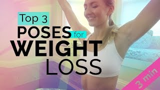 My Top 3 Yoga Poses for Weight Loss: For All Levels Including Beginners | Brett Larkin Yoga