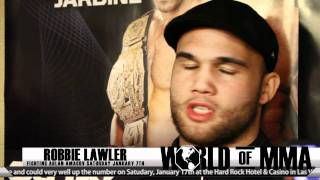 "Robbie Lawler Strikeforce Workouts - ""I"