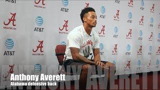 Alabama DB Anthony Averett on Ole Miss