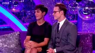 Frankie Bridge & Kevin Clifton - It Takes Two - Strictly Come Dancing - 21th october 2014