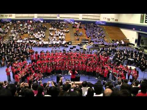 """Dona Nobis Pachem"" by Salt Lake Elementary School Chorus@2012 Moanalua Complex Concert"