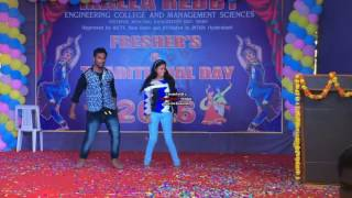 youth full dance by sunil sohan and jeevana in MREM COLLEGE