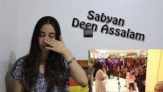 Sabyan Deen Assalam Live Crying Little Kid   Reaction