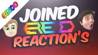 All Red Members Reaction's To Joining Red