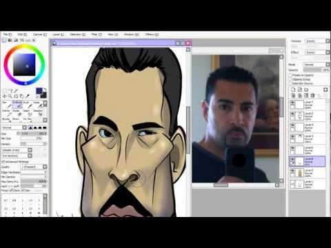 10 Minute Caricature Lesson! Episode 1!