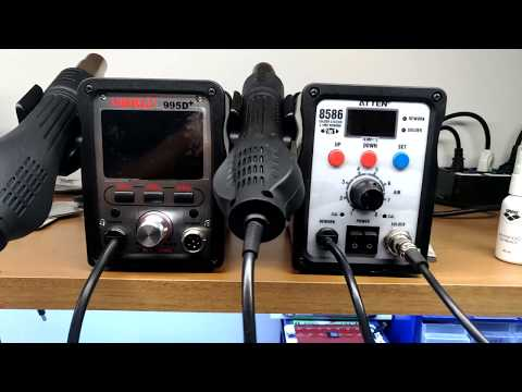Unboxing Rework Station 2 in 1  Yihua 995D+ - Italiano - 4K