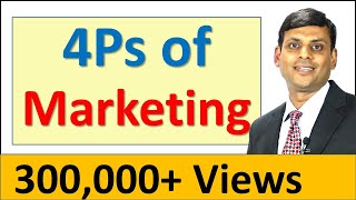 7. 4Ps of Marketing / Marketing Mix - Marketing Management Lecture by Prof. Vijay Prakash Anand