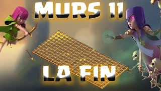 ROAD To MAX HDV 10 #3 : FIN DES MURS 11 / Clash of Clans FR