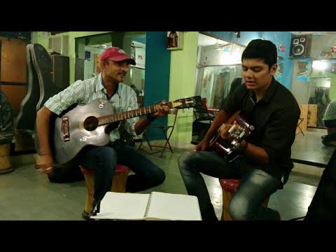 Ab Mujhe Raat Din - Sonu Nigam - Guitar cover By Dharmesh Soni...