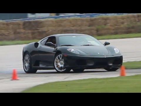Ferrari F430 Drift Attempt