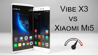 Xiaomi Mi5 vs Lenovo Vibe X3 - Speed Test Comparison
