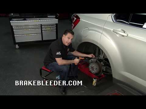 How to bleed ABS brakes by yourself from the bottom up