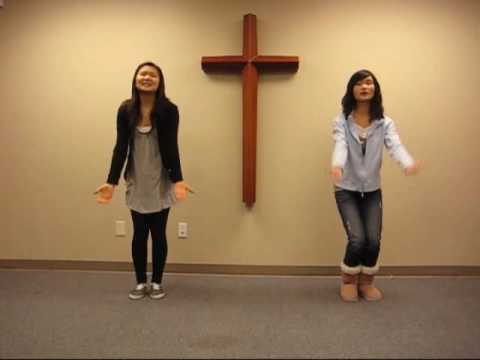 2010 Kids club worship dance - Praise him