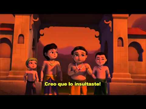 Little Krishna Ii -- El Guerrero Legendario  (subs Español) video