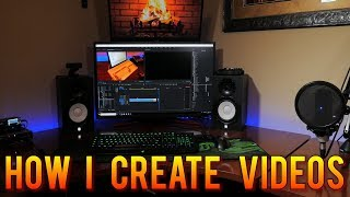 Starting a YouTube channel ? How I make videos - Camera, Lenses, Lights, Audio, Editing  | MVG
