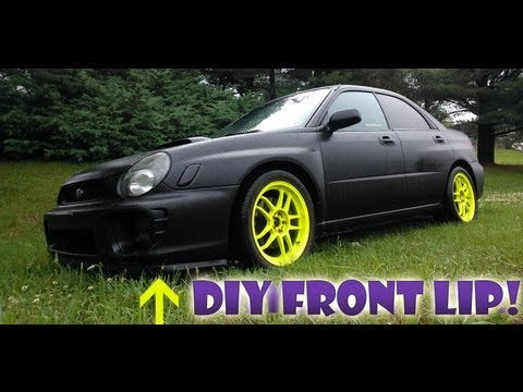 How To: DIY Home Depot Front Lip