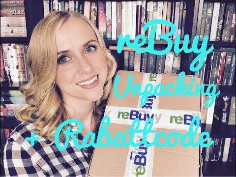 Sooo tolle Bücher! + reBuy Unpacking + Gutscheincode/Rabattcode