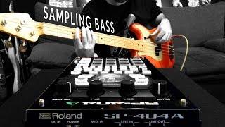 Roland SP-404A: Sampling Bass Guitar To Create An Instrument Patch [Beat Making Tutorial]