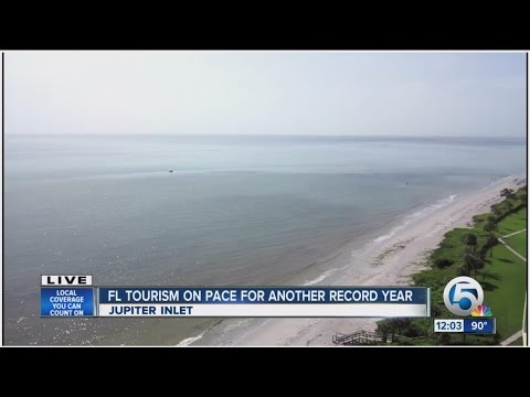 Florida tourism reaching record levels