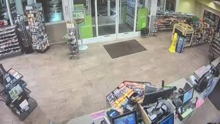 Beavers stop into Cumberland Farms store
