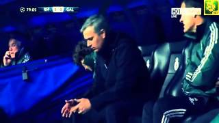 3-0 up The reaction of a troubled man  Jose Mourinho, Real Madrid 3 0 Galatasaray