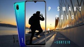Huawei P Smart 2019 Review/Análise em Português - GIVEAWAY