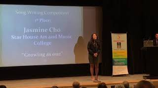 Star House Art and Music College- Jasmine Cho (Harmony Day Songwriting Comp State Winner 2018)