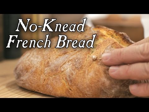 No-Knead French Bread: 18th Century Breads, Part 7. Cooking with Jas ...