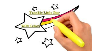 Star Draw Family and Learn Colors for Kids- Fun Creative for Kids Twinkle Little Star