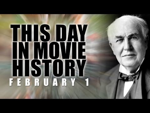 This Day in Movie History - First Movie Studio: February 1, 1893 - Movie Film Fact HD