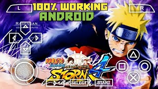 How to Download Naruto Shippuden Ultimate Ninja Storm 4 MOD on Android PPSSPP ISO Hindi