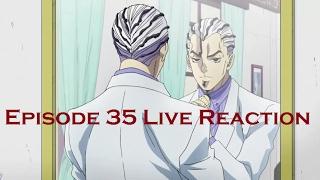 Anime Reaction Video - Diamond Is Unbreakable Episode 35: Bites the Dust Part 1