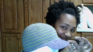 Download Tutorial Tuesday# 27 Striped Brimmed Cap (LATE) 3Gp Mp4