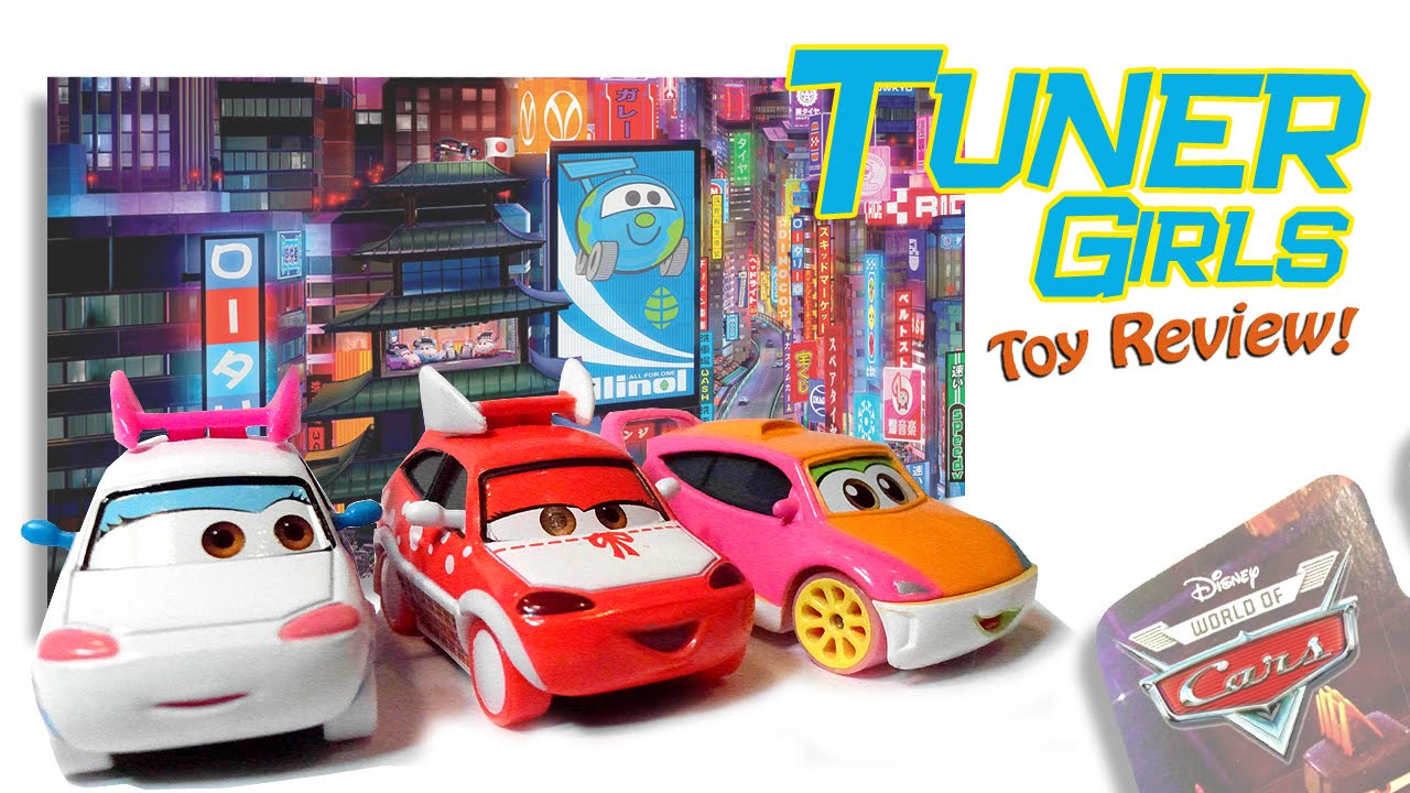 Tokyo Mater Drawing Tuner Girls 'tokyo Mater' Cars