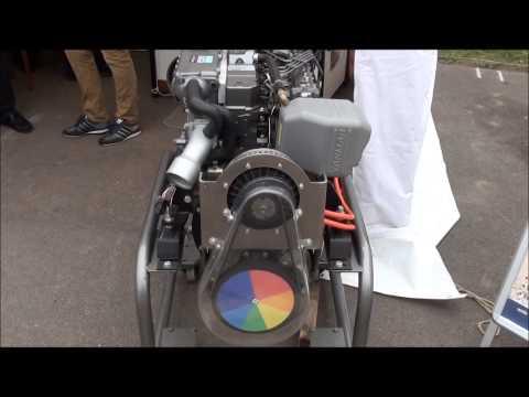 Yanmar Hybrid Diesel Electric Engine