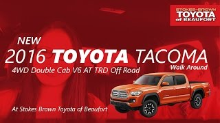 2016 Toyota Tacoma 4WD Double Cab V6 AT TRD Off Road With Devin And Kaikah