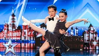 Meet dazzling dancing duo Lexie and Christopher | Auditions | BGT 2018