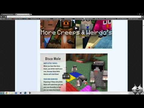 Minecraft 1.2.5 - How To Install More Creeps & Weirdos