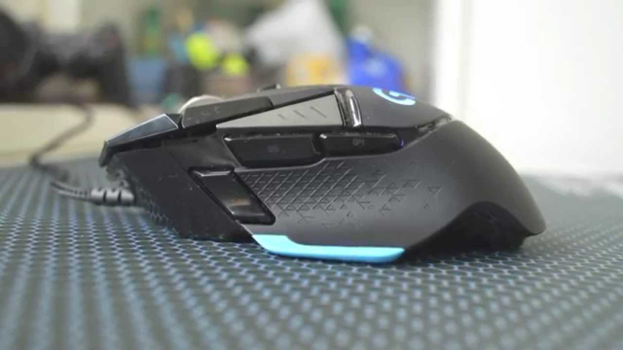 Logitech G502 Gaming Mouse Review Youtube