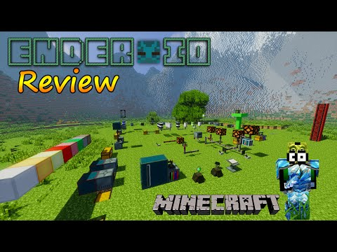 Minecraft 1.7.10 - Ender IO Mod Review / Español