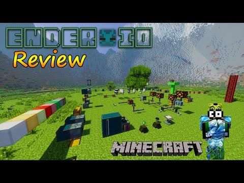 Minecraft 1.7.10 - Ender IO Mod Review / Español