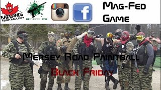 MagFed paintball magfed game  at Mersey