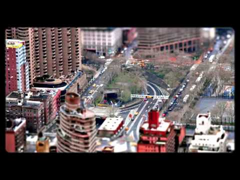 NEW YORK - Time Lapse - Tilt Shift - Scales  by Fernando Livschitz