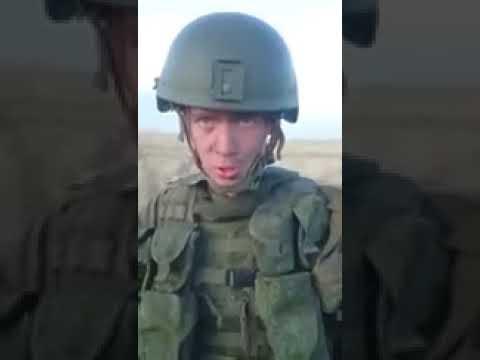 Российский солдат спалил БТР, разогревая еду
