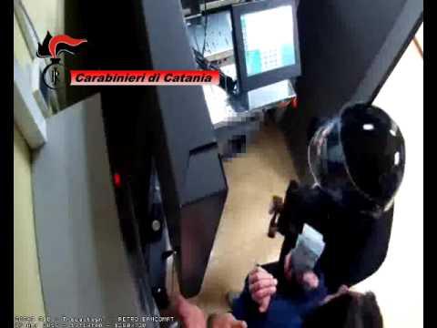 Arrestati i rapinatori dell'Unicredit di Trecastagni